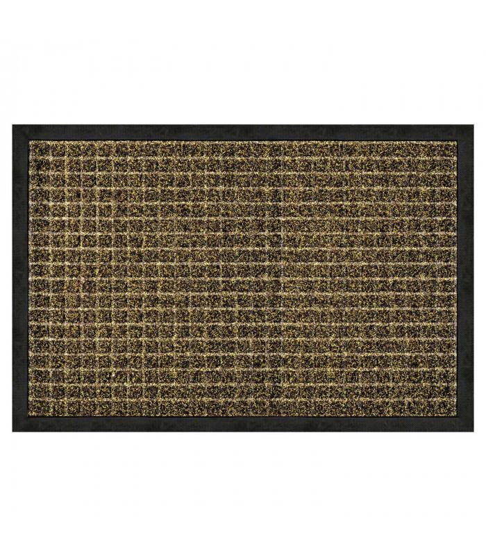 STRONG zerbino rettangolare inciso gomma tappeto esterno DUE MISURA in due colori