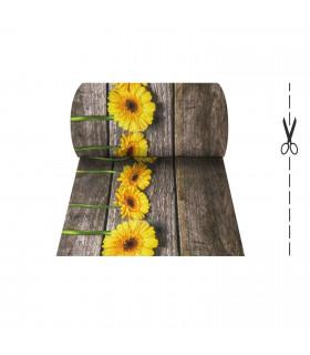 Joke tappeto multiuso digitale in vari formati - Melange Parquet Sunflower
