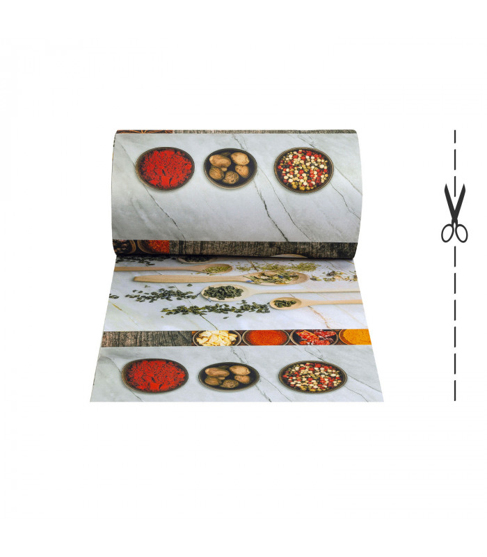 Joke tappeto multiuso digitale in vari formati - Melange Marble Kitchen
