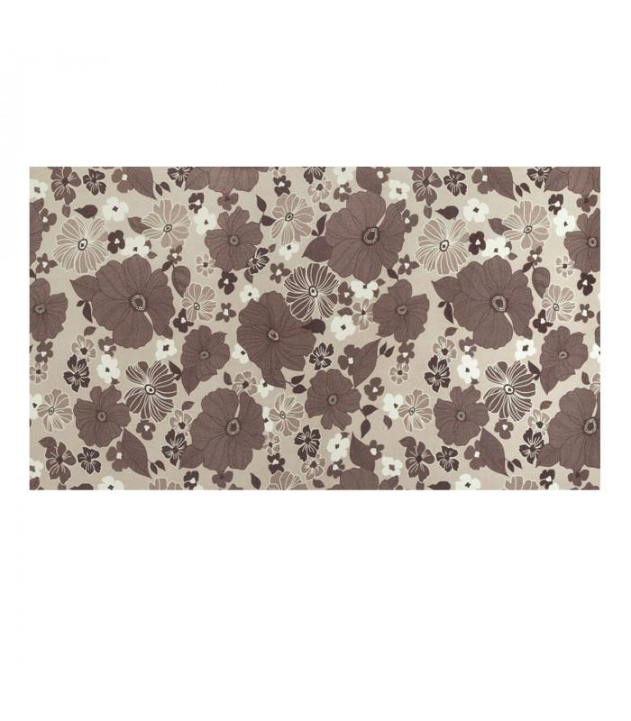 JUMP multi-purpose digital carpet in various formats - Melange FLOWER GREY
