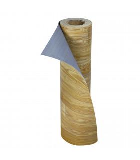VINILE - Parquet Beige, rotolo ad effetto legno. Facile da tagliare rotolo