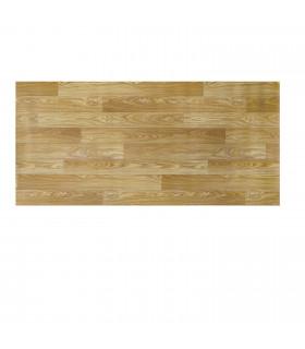 VINILE - Parquet Beige, rotolo ad effetto legno. Facile da tagliare