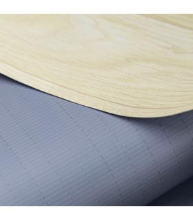 VINILE - Parquet Natural, rotolo ad effetto legno. Facile da tagliare. dettaglio fondo