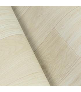 VINILE - Parquet Natural, rotolo ad effetto legno. Facile da tagliare. dettaglio piega