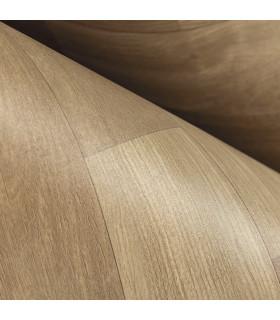 VINILE - Dark Brown rotolo ad effetto legno, facile da tagliare dettaglio effetto