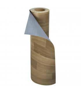 VINILE - Dark Brown rotolo ad effetto legno, facile da tagliare rotolo