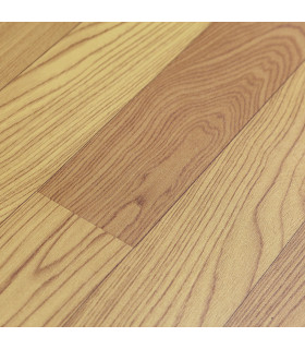 VINILE - Parquet Brown rotolo ad effetto legno, facile da tagliare dettaglio effetto