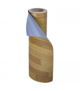 VINILE - Parquet Brown rotolo ad effetto legno, facile da tagliare, rotolo