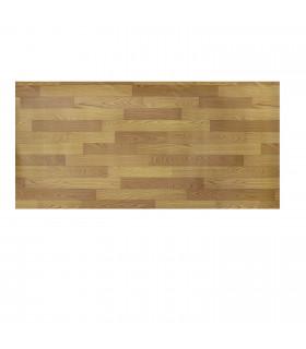 VINILE - Parquet Brown rotolo ad effetto legno, facile da tagliare