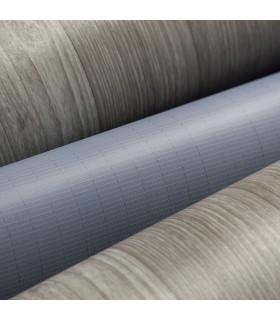 VINILE - Parquet Grey rotolo ad effetto legno, facile da tagliare dettaglio fondo