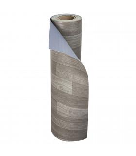VINILE - Parquet Grey rotolo ad effetto legno, facile da tagliare rotolo
