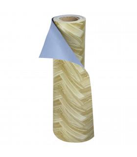 VINILE - Parquet Spina, rotolo ad effetto legno. Facile da tagliare rotolo