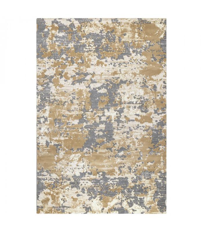 Opera tappeto di arredamento classico con disegni a livello varie misure variante VINTAGE