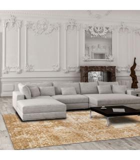 Opera tappeto di arredamento classico con disegni a livello varie misure variante BAROQUE ambientato