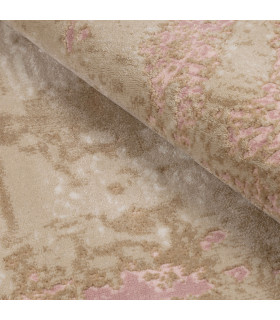 Opera tappeto di arredamento classico con disegni a livello varie misure variante CIPRIA particolare