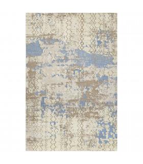 Opera tappeto di arredamento classico con disegni a livello varie misure variante OCEAN