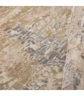 Opera tappeto di arredamento classico con disegni a livello varie misure variante MELANGE FLORAL dettaglio