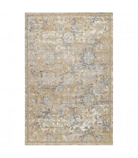 Opera tappeto di arredamento classico con disegni a livello varie misure variante MELANGE FLORAL