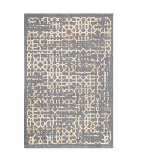 Opera tappeto di arredamento classico con disegni a livello varie misure variante MELANDRO