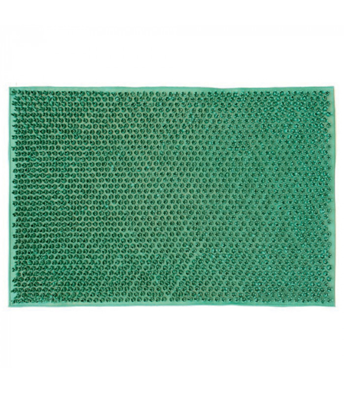 Prato Verde single rubber doormat measuring 040x060