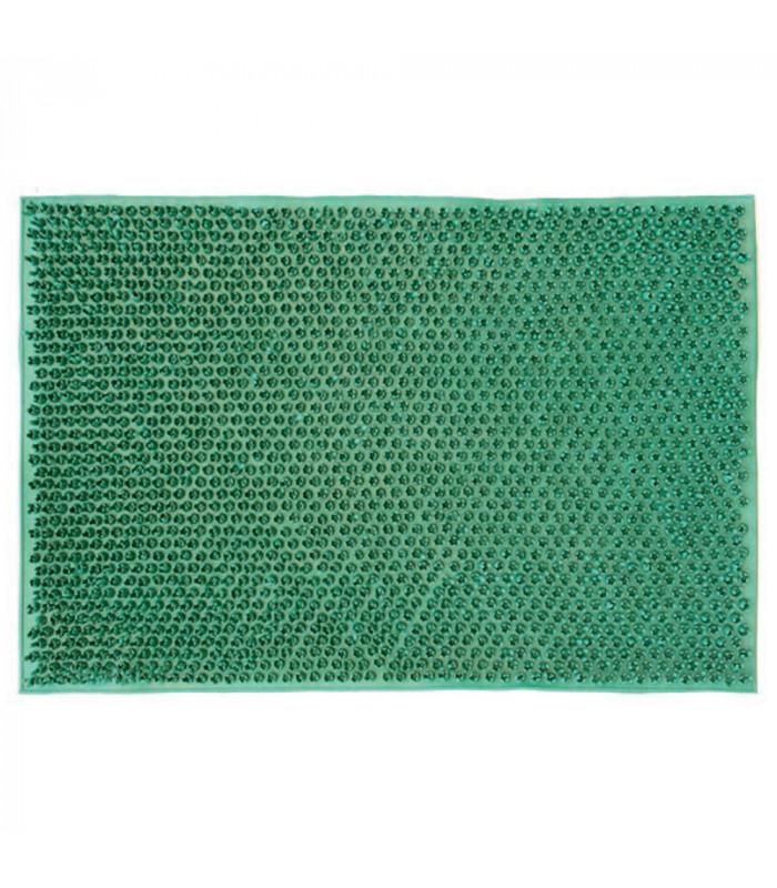 Prato Verde zerbino in gomma unica misura