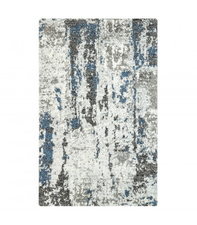 ART tappeto arredamento design moderno variante ROCK GREY-BLUE