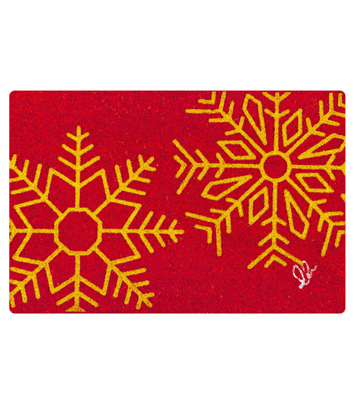 CHRISTMAS GLITTER doormat one size various variants