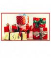 CHRISTMAS PARTY- Regali, tappetino natalizio antiscivolo da interno ed esterno