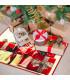 CHRISTMAS PARTY- Regali, tappetino antiscivolo da interno ed esterno con stampe natalizie in alta risoluzione ambientata