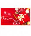 CHRISTMAS PARTY - Merry Gift, tappetino antiscivolo da interno ed esterno con stampe natalizie in alta risoluzione