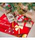 CHRISTMAS PARTY - Merry Gift, tappetino antiscivolo da interno ed esterno con stampe natalizie in alta risoluzione ambientata