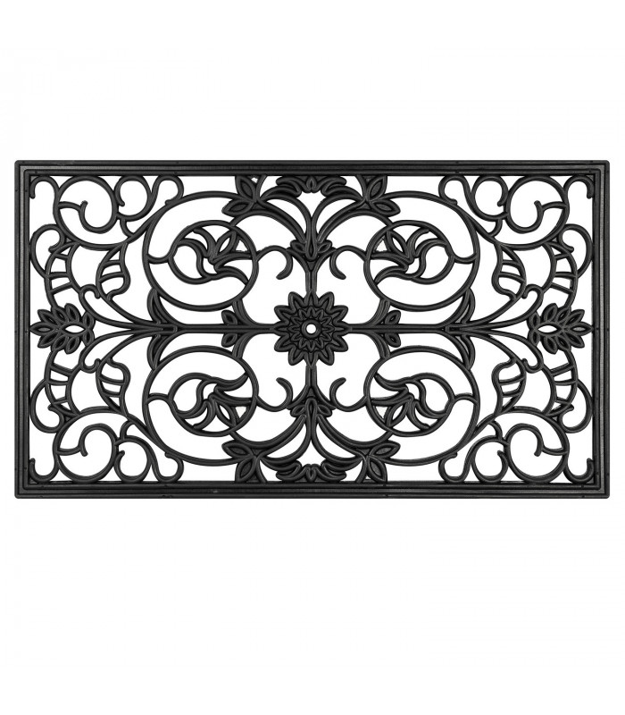 LORD curl rubber mat engraved outdoor rug UNIQUE SIZE