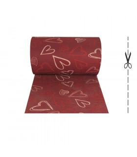 LIBERTY Tappeto corsia passatoia multiuso SU MISURA variante PASSION RED
