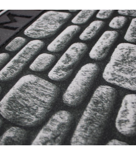 FLIPPER - Wall, super resistant, non-slip rubber printed doormat detail