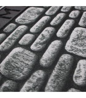 FLIPPER – Wall, zerbino stampato super antiscivolo in gomma dettaglio stampa