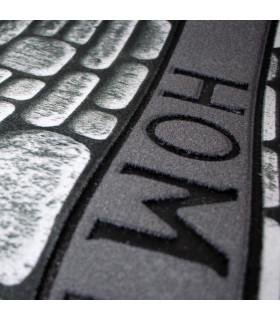 FLIPPER - Wall, super resistant, non-slip rubber printed doormat print detail