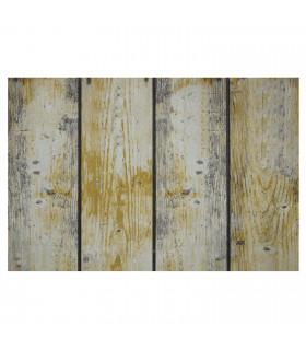 FLIPPER – Wood, zerbino stampato super resistente, antiscivolo in gomma