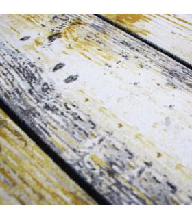 FLIPPER – Wood, zerbino stampato super resistente, antiscivolo in gomma dettaglio