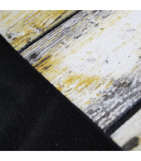 FLIPPER – Wood, zerbino stampato super resistente, antiscivolo in gomma dettaglio fondo