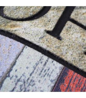 FLIPPER - Home, super anti-slip rubber printed doormat detail