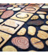 FLIPPER - Stone, super anti-slip rubber printed doormat detail