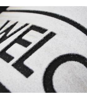 FLIPPER - Welcome, super anti-slip rubber printed doormat
