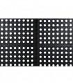 ULTRA - Modular and draining anti-fatigue doormat in natural rubber