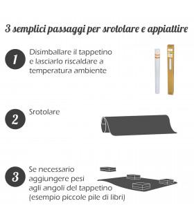 GHOST tappetino proteggi pavimento misura unica metodo d'utilizzo