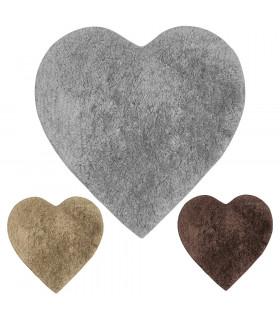 ELISIR CUORE | morbido tappeto da bagno in microfibra varianti colore