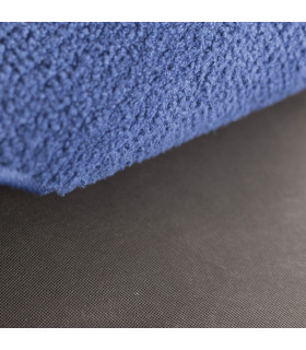 detail of OSSO: bone-shaped rug in super absorbent microfiber for pets