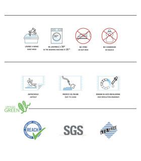 Etichetta tappeto Pet Clean in pvc