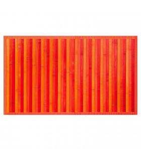 BAMBOO - Arancione, tappeto antiscivolo per la cucina, passatoia di bamboo effetto degradè vetrina