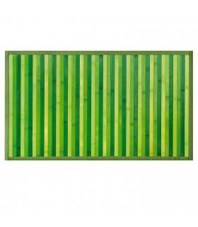 BAMBOO - Verde, tappeto antiscivolo per la cucina, passatoia di bamboo effetto degradè vetrina