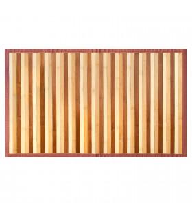 BAMBOO - Beige, tappeto antiscivolo per la cucina, passatoia di bamboo effetto degradè vetrina